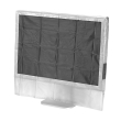 hama 113816 protective dust cover for screens 20 22 transparent photo