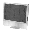 hama 113817 protective dust cover for screens 24 26 transparent photo
