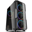 case innovator aquarius acrylic front panel with one fan photo