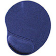 gembird mp gel b gel mouse pad with wrist support blue photo