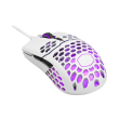 coolermaster mm711 16000dpi rgb light gaming mouse matte white photo