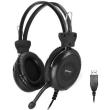 headphones a4tech hu 30 stereo usb black photo
