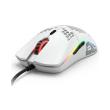 gloriouspc gaming race model o gaming mouse white matte photo