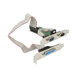 delock 89556 pci express card to 2 x serial rs 232 1 x parallel photo