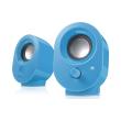 speedlinksl 8001 be snappy stereo speakers blue photo