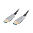 lanberg optical hdmi cable m m v20 100m black photo