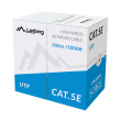 lanberg lan cable cat5e 305m solid cca green photo