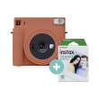 fujifilm instax square sq 1 set terracotta orange photo