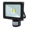 forever ip65 led fixture outdoor floodlight sensor 20w 6000k photo