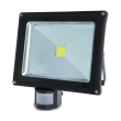 forever ip65 led fixture outdoor floodlight sensor 30w 6500k photo