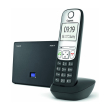 gigaset a690 ip cordless voip phone black photo
