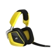 corsair void rgb wireless carbon dolby 71 gaming headset yellow photo