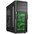 case sharkoon t3 w green led photo