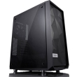 case fractal design meshify c dark tempered glass black photo