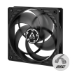 arctic p12 pwm pst fan 120mm black transparent photo