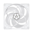 arctic p12 pwm pst fan 120mm white transparent photo