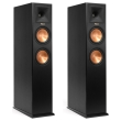 klipsch rp 260f reference premiere floorstanding speakers set black photo