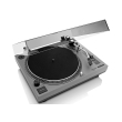 lenco l 3808 direct drive turntable with usb recording matt grey photo