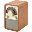 sangean wr 15bt fm am bluetooth wooden cabinet receiver walnut photo