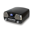 camry cr1134b turntable with cd mp3 usb sd recording black photo