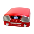 camry cr1134r turntable with cd mp3 usb sd recording red photo