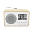 gotie gra 100s fm radio with digital tuning natural wooden photo