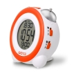 gotie gbe 200p digital clock with mechanical bell alarms orange photo