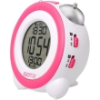 gotie gbe 200r digital clock with mechanical bell alarms pink photo
