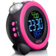 gotie gbe 300r alarm clock pink photo