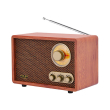 adler bluetooth retro radio ad1171 photo