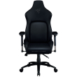 razer iskur black gaming chair with built in lumbar support photo