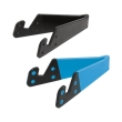 logilink aa0039b foldable smartphone and tablet stand black blue 2pcs photo