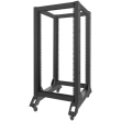 lanberg open rack 19 22u 600x800mm black photo