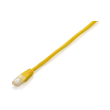 equip 825463 eco patchcable u utp cat5e 025m yellow photo