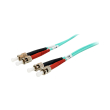 equip 25224107 st st fiber optic patch cable om3 1m photo