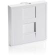 equip 125471 french modular insert 45x45mm 1 fold pure white photo