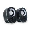 equip 245333 stereo 20 speakers black white photo