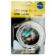 akasa usb 18 bl usb data flash cable blue 18m a male b male photo