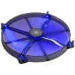 aerocool lightning led fan 200mm blue photo