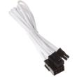 silverstone 8 pin pcie to 6 2 pin pcie extension 250mm wei photo