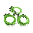super flower sleeve cable kit green photo