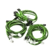 super flower sleeve cable kit black green photo