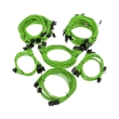 super flower sleeve cable kit pro green photo