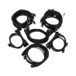 super flower sleeve cable kit pro black photo
