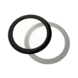 demciflex dust filter 92mm round black white photo
