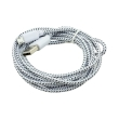 modmypi mmp 0877 usb to micro usb braided cable 2m white photo