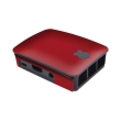 modmypi mmp 0379 raspberry pi case skin red leather photo