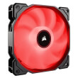 corsair air series af140 led 2018 red 140mm fan single pack photo