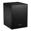 case alluminium mini itx jonsbo c2 black photo