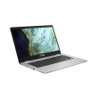 laptop asus chromebook c423na eb0049 14 fhd intel n3350 4gb 32gb google chrome os photo